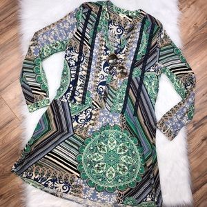 Anthropologie TINY xl boho chic tunic dress